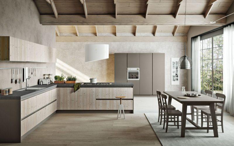 Linea 3 mobili – Caldo Legno – Cucine 1