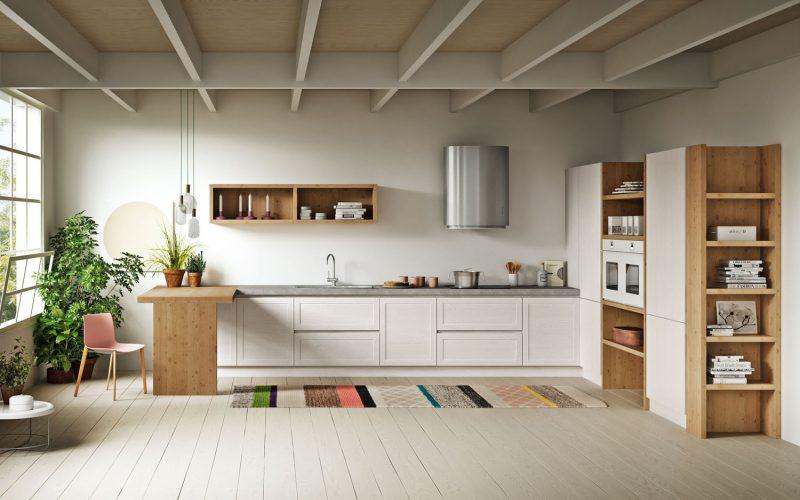 Linea 3 mobili – Caldo Legno – Cucine 2